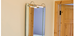 How to Install a Bathroom Mirror Light