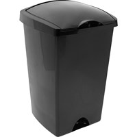Addis  Lift Bin Black - 48 Litre