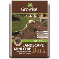 Bord na Móna Growise Landscape Bark Mini Chip - 100 Litres
