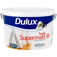 Trade Supermatt White Paint - 10 Litre