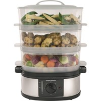 Morphy Richards  3 Tier Steamer