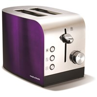 Morphy Richards  2 Slice Toaster - Plum