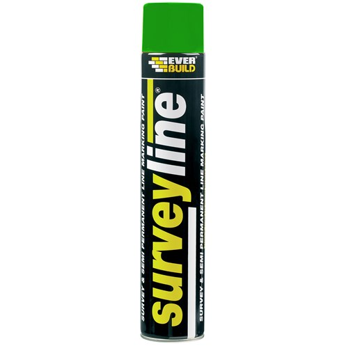 Everbuild  Surveyline Paint 700ml - Green