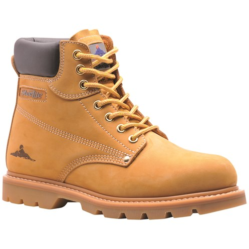 Portwest  Steelite Welted Safety Boots - Honey