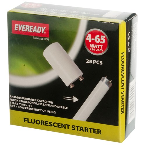 Eveready  Fluorescent Starter - 4-65W