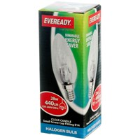 Eveready  Eco Halogen Candle Light Bulb - 28W SES