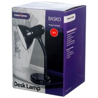 Powermaster  Red Metal Desk Lamp - 40W