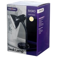 Powermaster  Cream Metal Desk Lamp - 40W