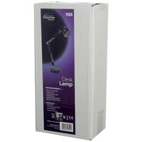 Powermaster  Black Swing Arm Desk Lamp - 40W