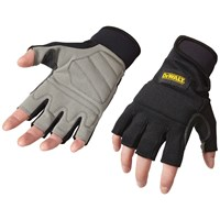 Dewalt  Rapid Fit Fingerless Gloves - Large