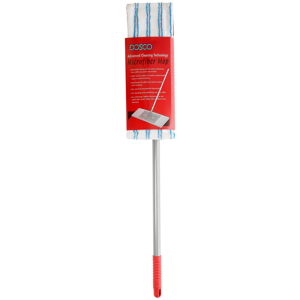 Dosco Microfibre Mop With Telescopic Handle 17in Mops Brooms Pro Comp Pc 8000 Wiring Diagram