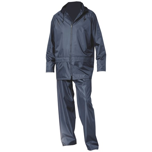 Portwest  Aran Budget Rainsuit - Navy