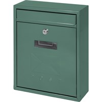 De Vielle  Contemporary Post Box - Green