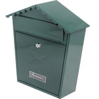 De Vielle  Classic Post Box - Green