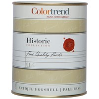 Colortrend  Antique Eggshell Pure Brilliant White Paint - 1 Litre