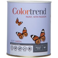 Colortrend  Soft Sheen Colours Paint - 1 Litre