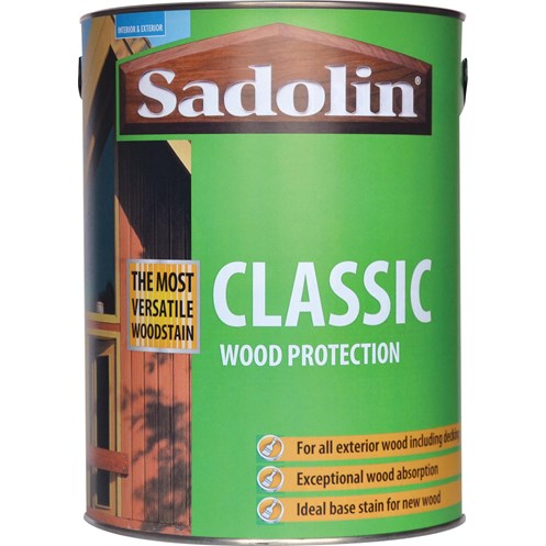 Sadolin Woodstain Classic Colours Woodstain - 5 Litre