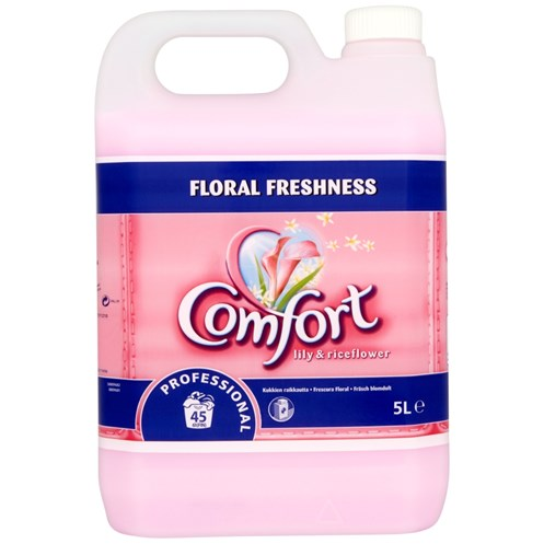 Comfort Lily & Riceflower Fabric Conditioner 5L