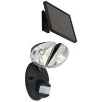 Elro  SMD LED Solar Wall Light with Movement Detector - 2 Piece Black