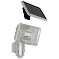 Elro  SMD LED Solar Wall Light with Movement Detector - 2 Piece Aluminium